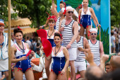 Gay  parade in Sitges — Stock Photo