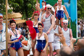 Gay  parade in Sitges — Stockfoto