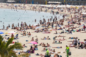 Beach of Barcelona — Stock Photo