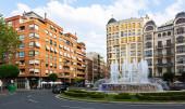 Alferez Provisional square — Stock Photo
