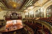 дворец каталонской музыки — Стоковое фото