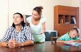 Family quarrel — Photo