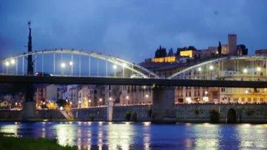 Bridge Pont de l'Estat — Vídeo Stock
