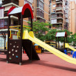Playground in city street — Stock Photo #54977335