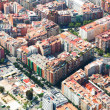Aerial view of houses at residential district  — Stock Photo #54977337