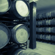 Vintage photo of old wine cellar — Stock Photo #54978017