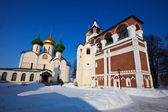 Saviour-Euthimiev monastery  at Suzdal in winter. — Stock Photo