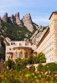 Santa Maria de Montserrat monastery   — Stock Photo