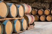 Interior of french winery   — Stock Photo