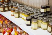 Sortiment konzervovaných produktů — Stock fotografie