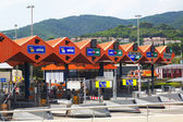Customs toll road in Catalonia  — Stock Photo