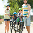 Father, mother and two children — Stock Photo #54982867