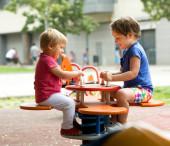 Children at playground — Stock Photo