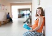 Mulher grávida em clínica — Fotografia Stock