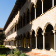 Courtyard of Pedralbes Monastery at Barcelona — Stock Photo #57449131
