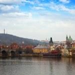 Prague wih Charles bridge — Stock Photo #57449837