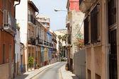 Old street in european city — Foto de Stock