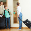 Family going on holiday — Stock Photo #57466261