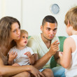 Parents scolding child — Stock Photo #57468483