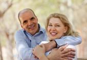 Senior man and mature woman — Stock Photo