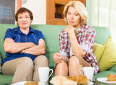Women discussing problems — Stock Photo