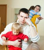 Joven conflicto familiar. — Foto de Stock
