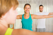 Fitness klasse — Stockfoto