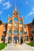 Hospital de la Santa Creu i Sant Pau in Barcelona — 图库照片