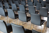 Chairs in the presentations hall  — Stock Photo