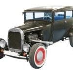 Black classical vintage automobile — Stock Photo #59480573