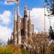 Sagrada Familia by architect Antoni Gaudi — Stock Photo #59481897