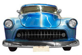 Blue classical vintage  automobile — Stockfoto