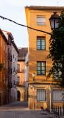 Улица в Старом городе Европы. — Стоковое фото