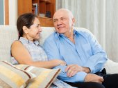 Happy mature couple  together  — Stock Photo