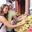 Couple picking fruits — Stock Photo #61571963