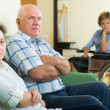Couple and disabled woman — Stock Photo #61839651