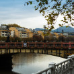 Maria Cristina bridge — Stock Photo #61840261