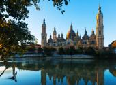 Zaragoza cathedral — Stock Photo
