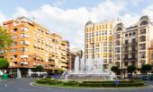 Plaza   in Logrono — Stock Photo