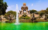 Barcelona,  Fountain Cascada — Stock Photo
