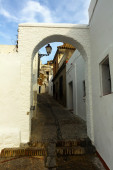 Street of Arcos de la Frontera — Stock Photo