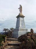 Статуя Христа в горы в Ольвера — Стоковое фото