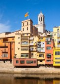 Girona in day time — Stock Photo