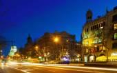Passeig de Gracia in Barcelona — Stock Photo