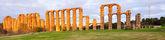 Panorama of Acueducto de los Milagros  — ストック写真