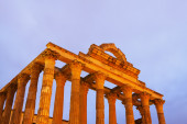 Ancient temple of Diana — Stock Photo