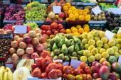 Various fruits on spanish market — Photo