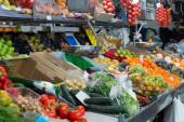 Many organic produce — Stockfoto