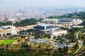 Zone d'olympique de Montjuic. Catalogne, Espagne — Photo