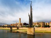 Monument to Battle of the Ebro — Stok fotoğraf